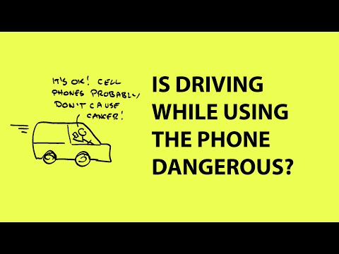 Is using a cell phone while driving bad for your health?