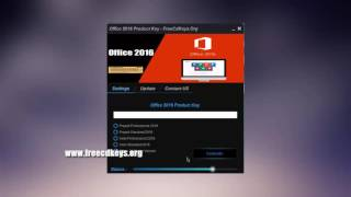 Microsoft Office 2016 Product Key Daily Update + KMS