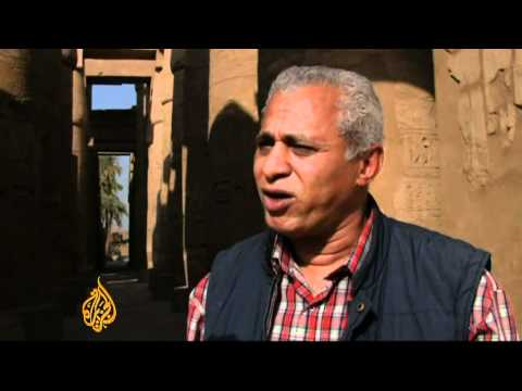 Uprising ruins Egypt's tourism