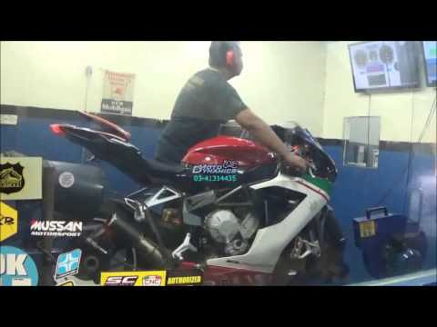 MV-AGUSTA F3 800 Bazzaz ZFi Dyno Tuning - Motodynamics Technology Malaysia