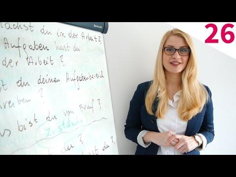 Kurs Niemieckiego - Odc. 26: Badanie U Lekarza [Mówimy Po Niemiecku]