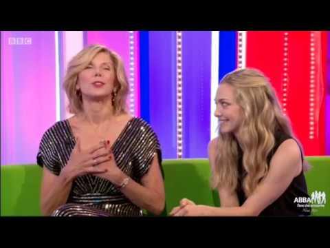 Christine Baranski and Amanda Seyfried at the BBC The one show