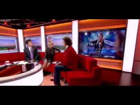Andre Rieu on  BBC One Breakfast, 01st nov  2012