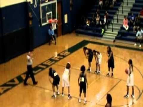 Cummings High School vs Reidsville High School (full) - Aundrea Walker - #33 - F/C - c/o2015