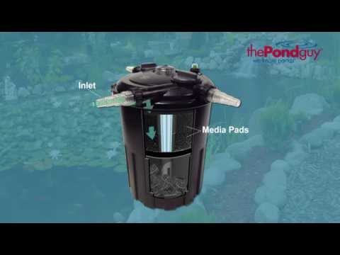 The Pond Guy® AllClear™ PLUS G1 Pressurized Filters - Biological Filter & UV in One