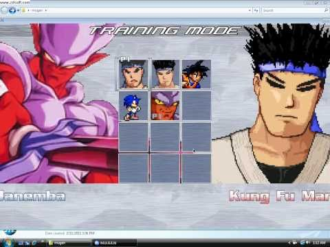 How to download and put characters in MUGEN!!!