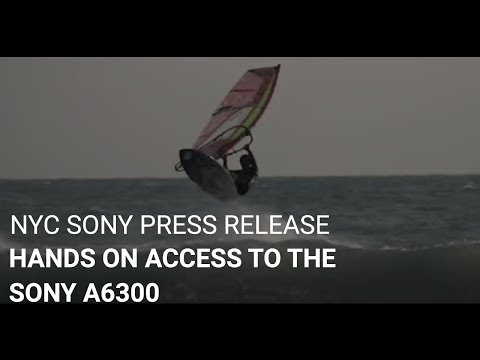 Hands On Review Of The Sony a6300 At NYC - Gary Fong