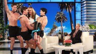 download musica Ellen Celebrates Allison Janneys Oscar Win with Hunks