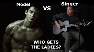 MODEL vs. SINGER! | Who Gets the Ladies? (Public Experiment) ft. Luis Meza