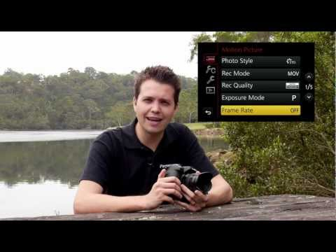 Panasonic Australia Lumix camera GH3 Tech Tips - Videography