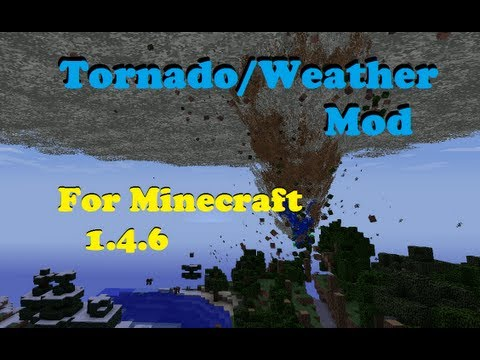 Tornado Mod 1.5.2 - Minecraft Review & How to Install