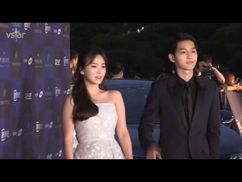 160603 송중기 송혜교 송송커플 Song Joong Ki Song Hye Kyo Song Song Couple Red Carpet Fancam Complication
