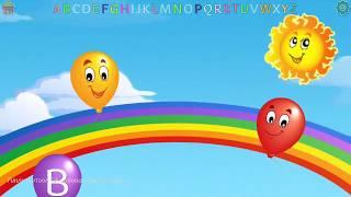 Best Kids Balloon Pop game for preschool and kindergarten#3|Funny Cartoon Educational Children Games