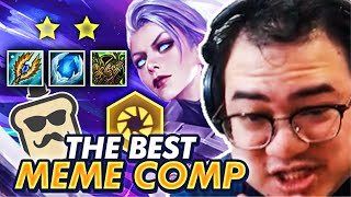 6 CHRONO RIVEN MEME COMP! INFINITE ATTACK SPEED! | TFT | Teamfight Tactics Galaxies