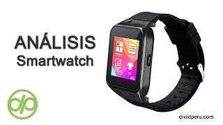 Smartwatch GV-09 (ZDR19), review en español