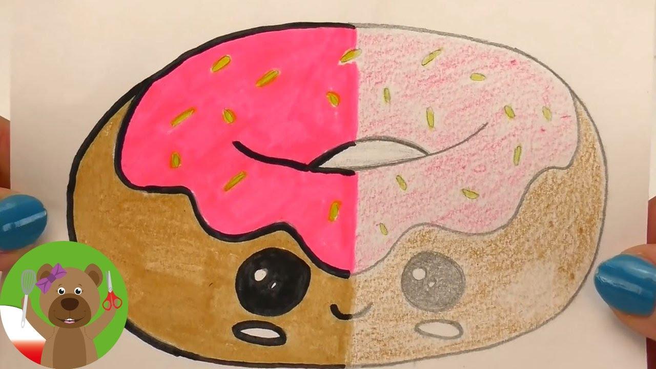 Malowanie & Rysowanie | Porównanie obrazków w stylistyce Kawaii | kredki v. flamastry