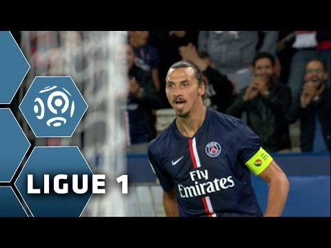 Ibrahimovic's Hat Trick PSG-ASSE (5-0) / Ligue 1 / 2014-15