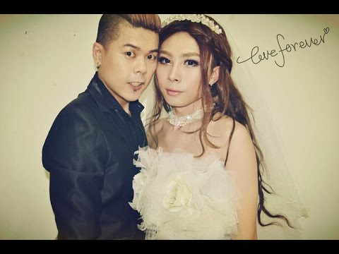 Boy To Girl Full Transformation Wedding Makeup 伪娘结婚妆容