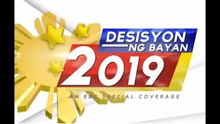 WATCH: DESISYON NG BAYAN 2019, EBC Special Coverage of Midterm Elections - May 13, 2019