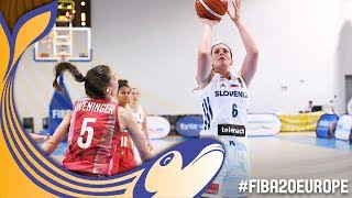 Slovenia v Hungary - Full Game - FIBA U20 Womens European Championship 2017