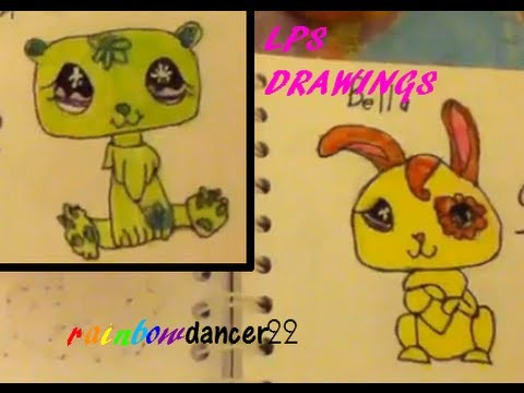 My LPS drawings and pets