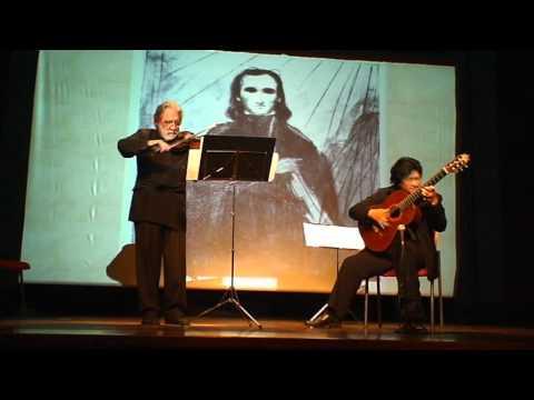 Caprice 24 Paganini - Robert Brown (violin)&Lianto Tjahjoputro (guitar)