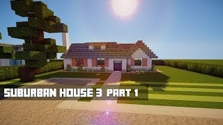 Minecraft Lets Build - Suburban House 3