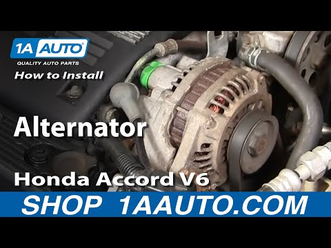 Movie Replace Your 2003 Honda Accord V6 Starter How To