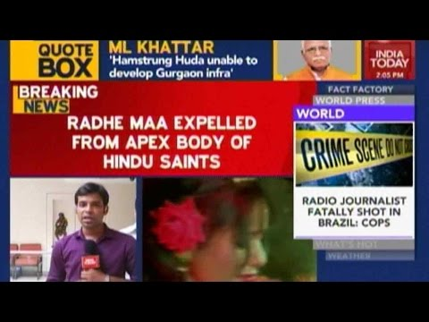 Radhe Maa Expelled From Apex Body Of Hindu Saints In India