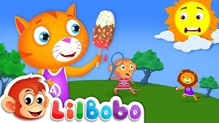 Ice Cream Song | Little BoBo Nursery Rhymes | Summer Season | Flickbox Kids