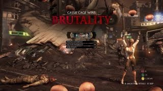 Mortal Kombat XL: Cassie Cage Gift Of Life Tower Challenge