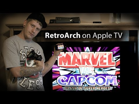 RetroArch - PS3 Controller And Apple TV Gaming - NES. SNES. Gameboy. GBA & Playstation On Apple TV