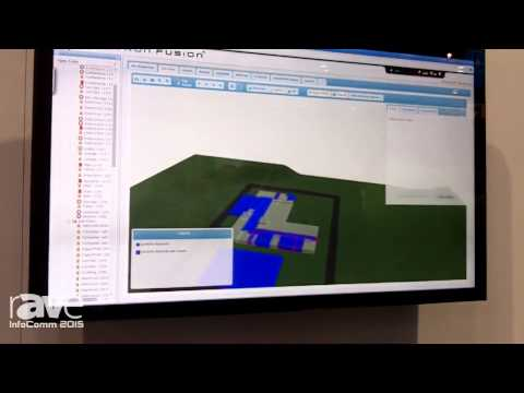 InfoComm 2015: Crestron Exhibits Fusion Insight Software with 3D Mapping