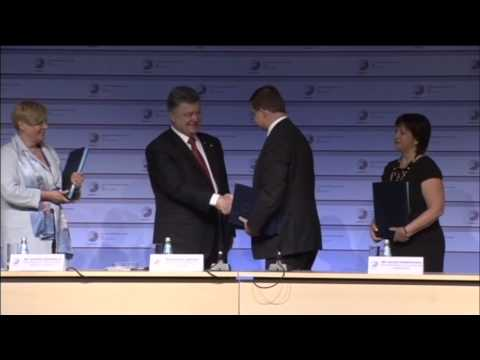 Ukraine-EU Loan Deal: Third macrofinancial EU assistance programme for Ukraine signed in Riga