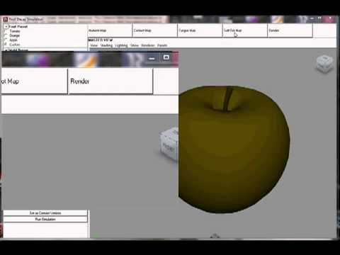 Fruit Senescence and Decay Simulation