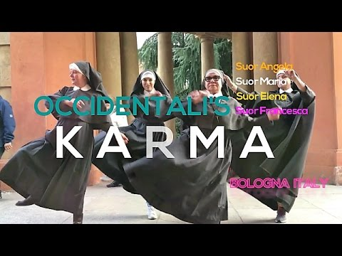 Francesco Gabbani - OCCIDENTALI'S KARMA Bologna Suore