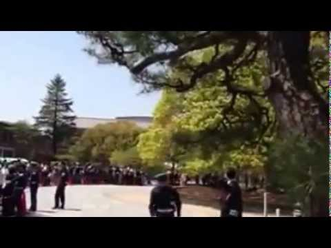 Aung San Suu Kyi visit at Ryukoku university Japan