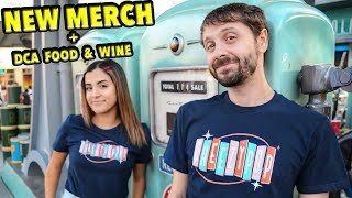 New Merch! + How Hot Is Ghost Pepper Mac n Cheese at Disney California Food & Wine?