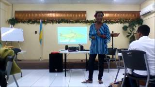 KEEP THE BEACHES CLEAN. A Barry University Bahamas Presentation by Carla Campbell