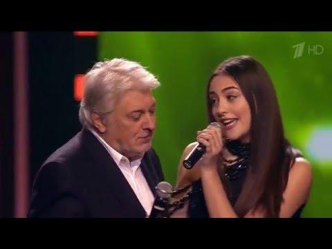Вячеслав Добрынин с внучкой Sonya McGaffey Ягода Малина