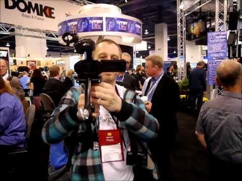 CES 2012: Steadycam. czyli wspomaganie dla operatora kamery
