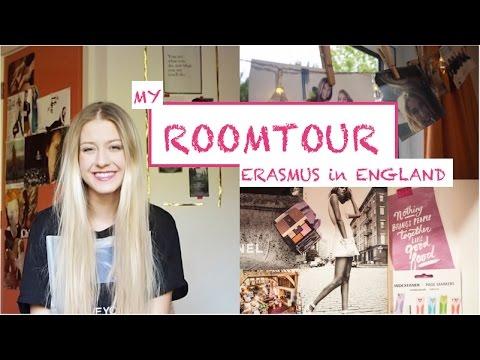 ROOMTOUR | Erasmus Accommodation in England