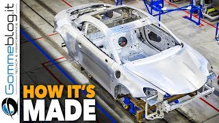 2018 ALPINE A110 Production - CAR FACTORY - How It's Made ASSEMBLY