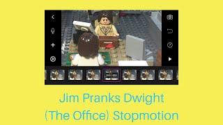 Jim Pranks Dwight (The Office) Stop motion