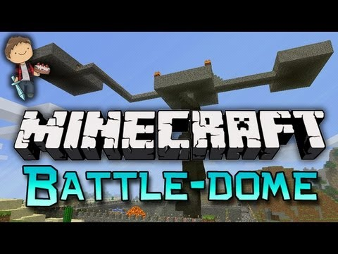 Minecraft: BATTLE-DOME Mini-Game w/Mitch & Friends! Tie-Breaker!