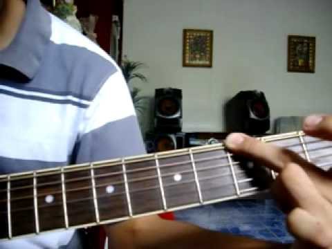 Lo unico que quiero/Abel zavala-Tutorial de Guitarra, intro