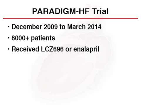 PARADIGM-HF: A Concise Summary with Journal Club Questions