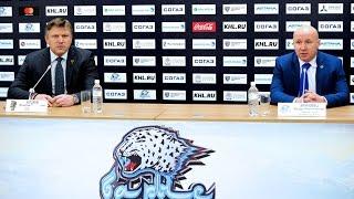 Барыс - Сочи / пресс-конференция