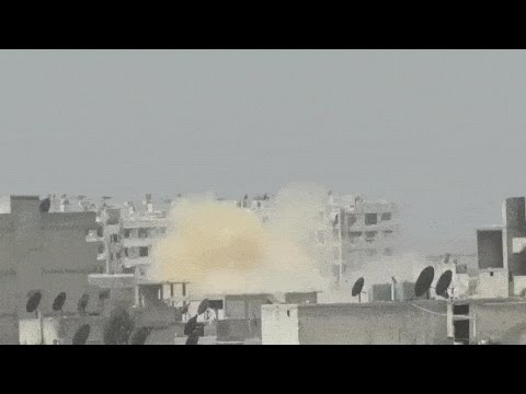 Aleppo hit by chemical gas attack, yellow cloud seen rising – journo confirms to RT