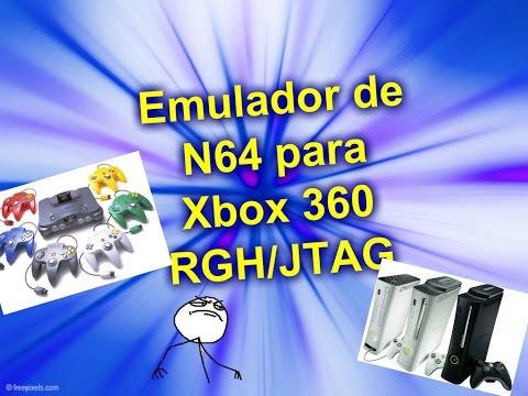 Cómo instalar emulador de Nintendo 64 en Xbox 360 RGH/JTAG